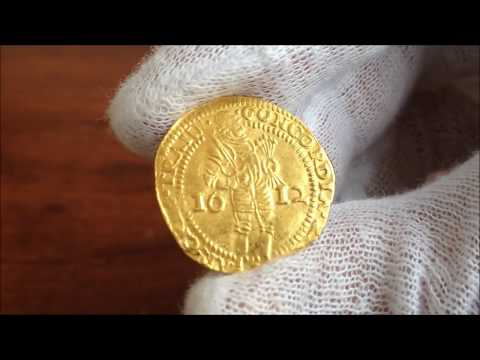 1612 Dutch Gold Ducat from the United Provinces of the Netherlands