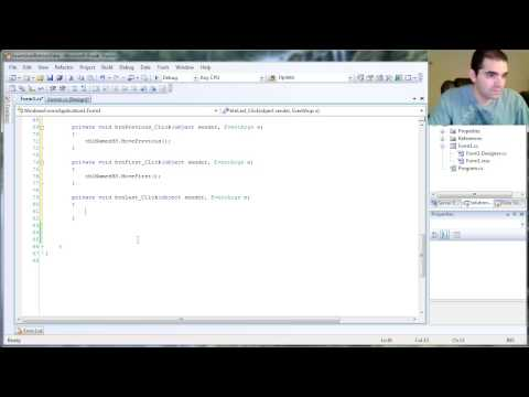 Part 3 of 5: Using BindingSource to navigate the Dataset with C#