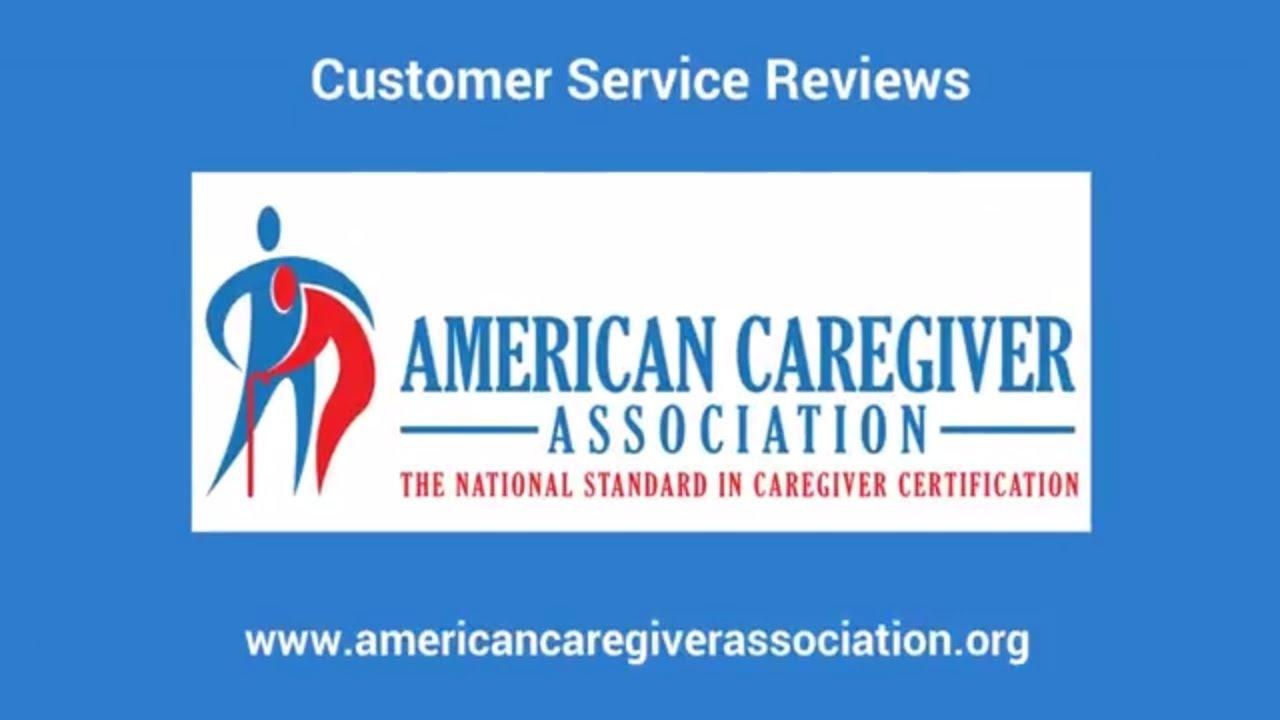 American Caregiver Association Customer Service Ranked EXCELLENT ...