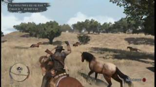 Red Dead Redemption Xbox 360 Gameplay 2 HD