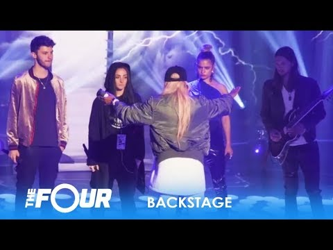Backstage: 'The Four' Having A Very FRUSTRATING Rehearsal Day! | The Four