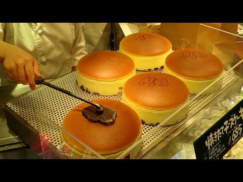 Uncle Rikuro delicious Cheesecakes in Japan
