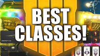 BLACK OPS 4 BEST CUSTOM CLASSES! Top 10 Best Setups, Tips & Tricks, OP Combos & Much More!