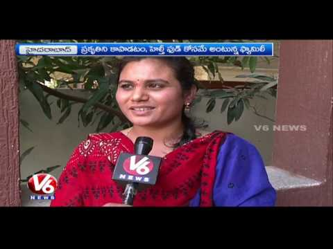 Organic Food | Srinivasa Rao Family Uses Clay Utensils For Cooking | Hyderabad | V6 News