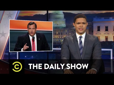 The Daily Show - Make America Hate Again: Chris Christie's Anti-Hillary Clinton Tirade