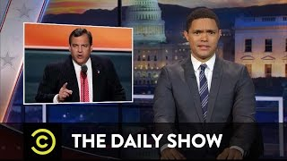 The Daily Show - Make America Hate Again: Chris Christie