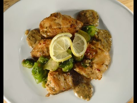 Lemon Chicken with Dijon and Tarragon
