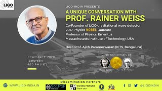 A unique conversation with Prof. Rainer Weiss