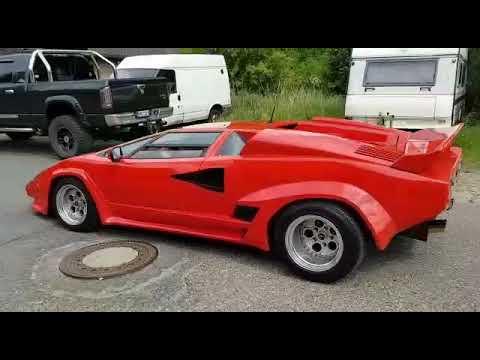 Lamborghini Countach Replica Strohm De Rella Youtube