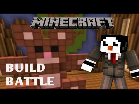 minecraft build battle l 39 ours en peluche swag youtube. Black Bedroom Furniture Sets. Home Design Ideas