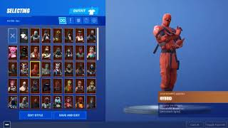 SELLING FORTNITE STACKED ACCOUNT $50