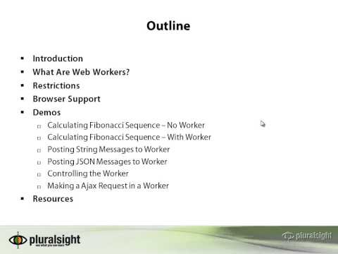 Introduction html5 web  worker