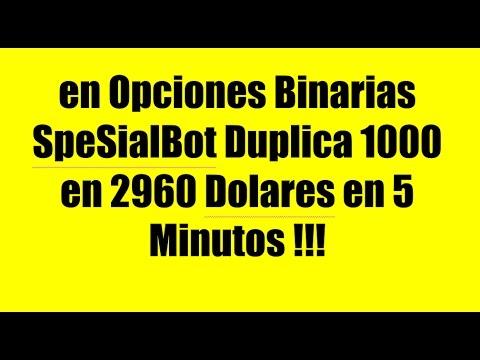 Opciones binarias 5 minutos
