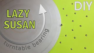 DIY How to make a Lazy Susan - Turntable Bearing HD