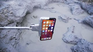 What Happens If You Dip an iPhone X in Boiling MudPot? iPhone 検索動画 17