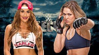 Ronda Rousey vs Nikki Bella