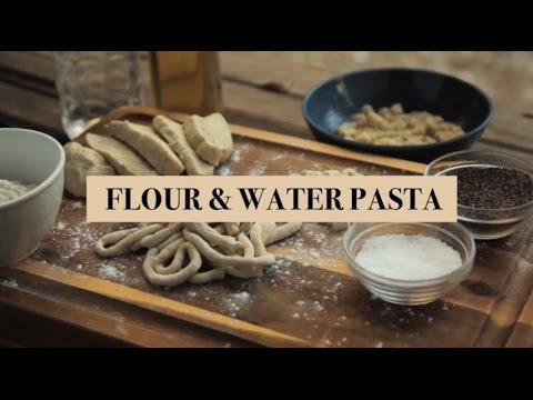 "Fabio's Kitchen: Episode 10, ""Egg-less Fresh Pasta Dough"""