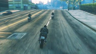 STEALING THE BEST BIKE IN THE WORLD (GTA 5 Heists Funny Moments) #10