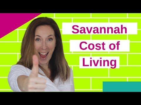 Cost of Living in Savannah GA