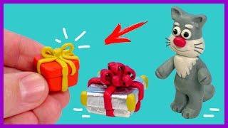уроки: как сделать подарок из пластилина