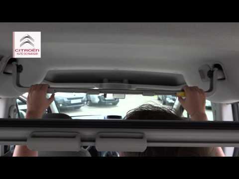 Citroën Zubehör: Innenträger Für Berlingo - Platz Für Ski, Snowboard Und Andere Ausrüstung