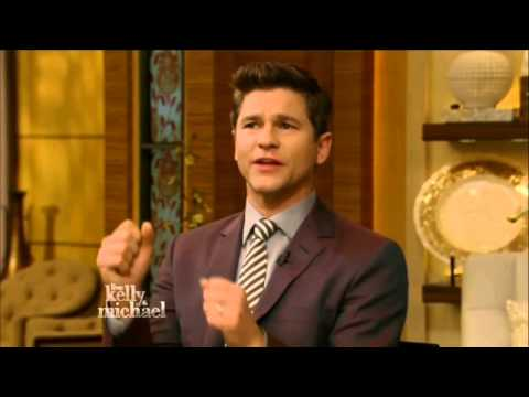David Burtka on Live! with Kelly and Michael (Apr 15th, 2015)