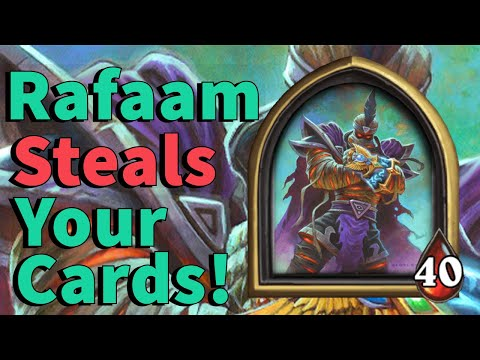 RAFAAM STEALS YOUR CARDS! - Hearthstone Battlegrounds