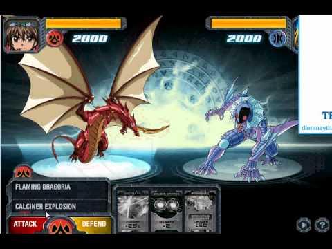 Game bakugan – Chiến binh Bakugan chiến đấu