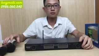 Micro karaoke không dây thế hệ mới Nobsound HF-806
