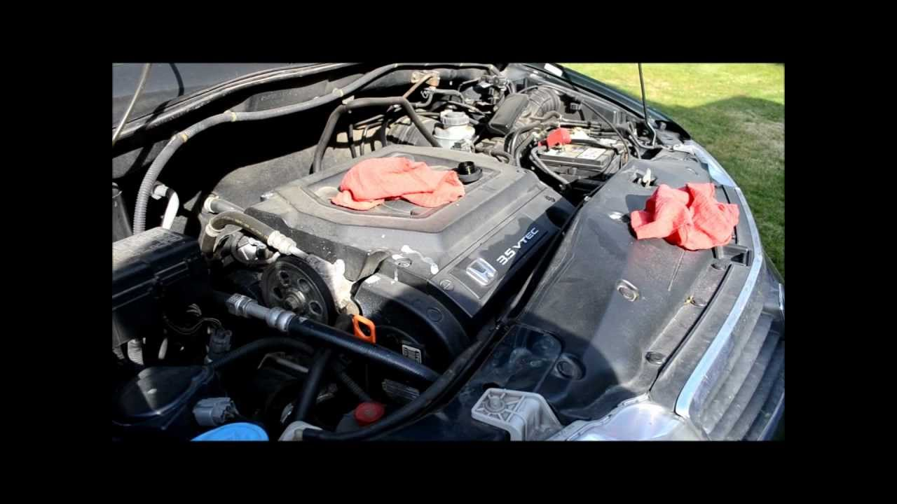 2000 honda odyssey oil change how to step by step youtube