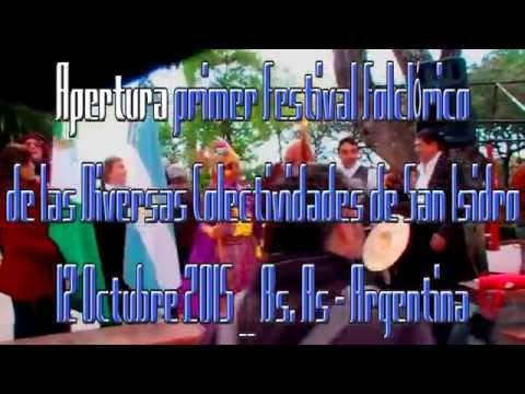Festival Folclorico de las Diversas Colectividades de San Isidro 12  10 2015