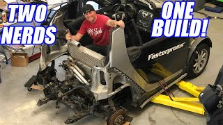 Hayabusa Swap SmartCar?! Nope, BETTER!  Burnout Build Ep.1
