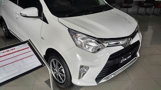 In Depth Tour Toyota Calya G A/T - LCGC Termahal!