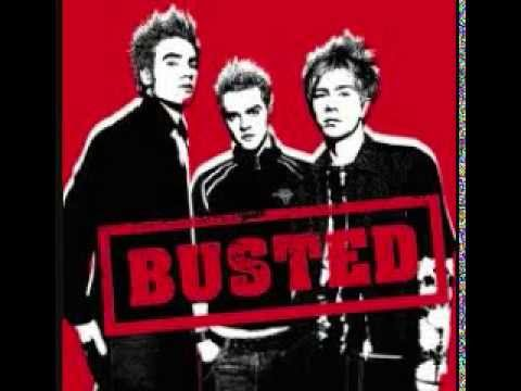 Falling for you Busted cover