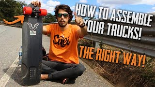 Cuei Skate Tips - How to Assemble Your Trucks ( THE RIGHT WAY! )