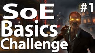 Shadows of Evil: Back to Basics Challenge! #1 (Call of Duty: Black Ops 3 Zombies)