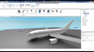 ROBLOX- How To Put Seats In Planes
