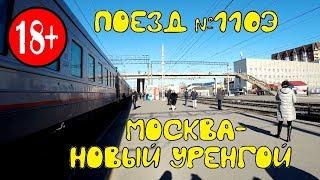 Поездка на поезде №110Э Москва - Новый Уренгой из Перми в Тюмень