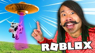 ALIENS ARE REAL! SIS vs BRO Roblox Obby Spy Ninjas Challenge