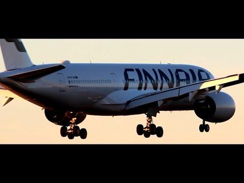 FINNAIR Airbus A350 XWB | FIRST Landing at Helsinki Airport | Water Salute | OH-LWA