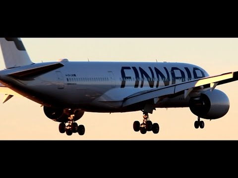 finnair-airbus-a350-xwb-|-first-landing-at-helsinki-airport-|-water-salute-|-oh-lwa