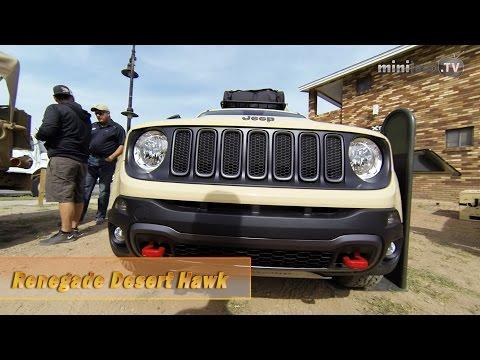 Jeep Renegade Desert Hawk and more - Easter Jeep Safari 2015