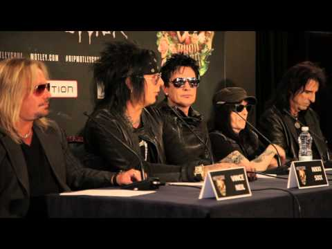 Anne Erickson - Motley Crue, Def Leppard & Poison Are Holding a HUGE Press Conference Today