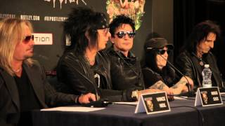 Motley Crue: The Final Tour - European Press Conference