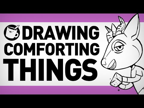 Drawing Things That Comfort Us