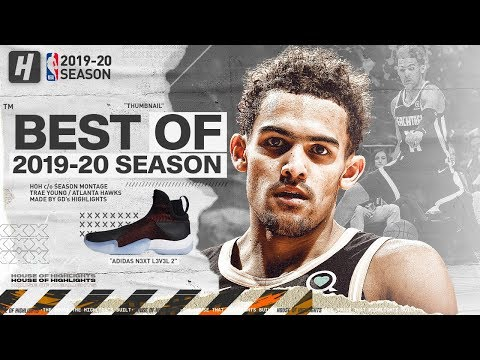 Trae Young BEST Hawks Highlights from 2019-20 NBA Season! CRAZY HANDLES!