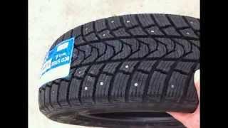 Классные зимние шины Minerva Eco Stud LT tires смотреть