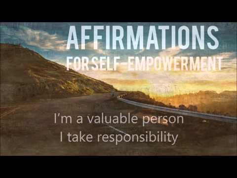 Affirmations for self-empowerment