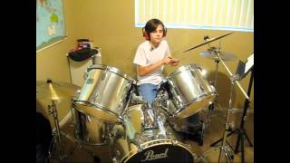 "12 Year Old Ty Playing ""I Know, You Know"" Psych Theme Song"