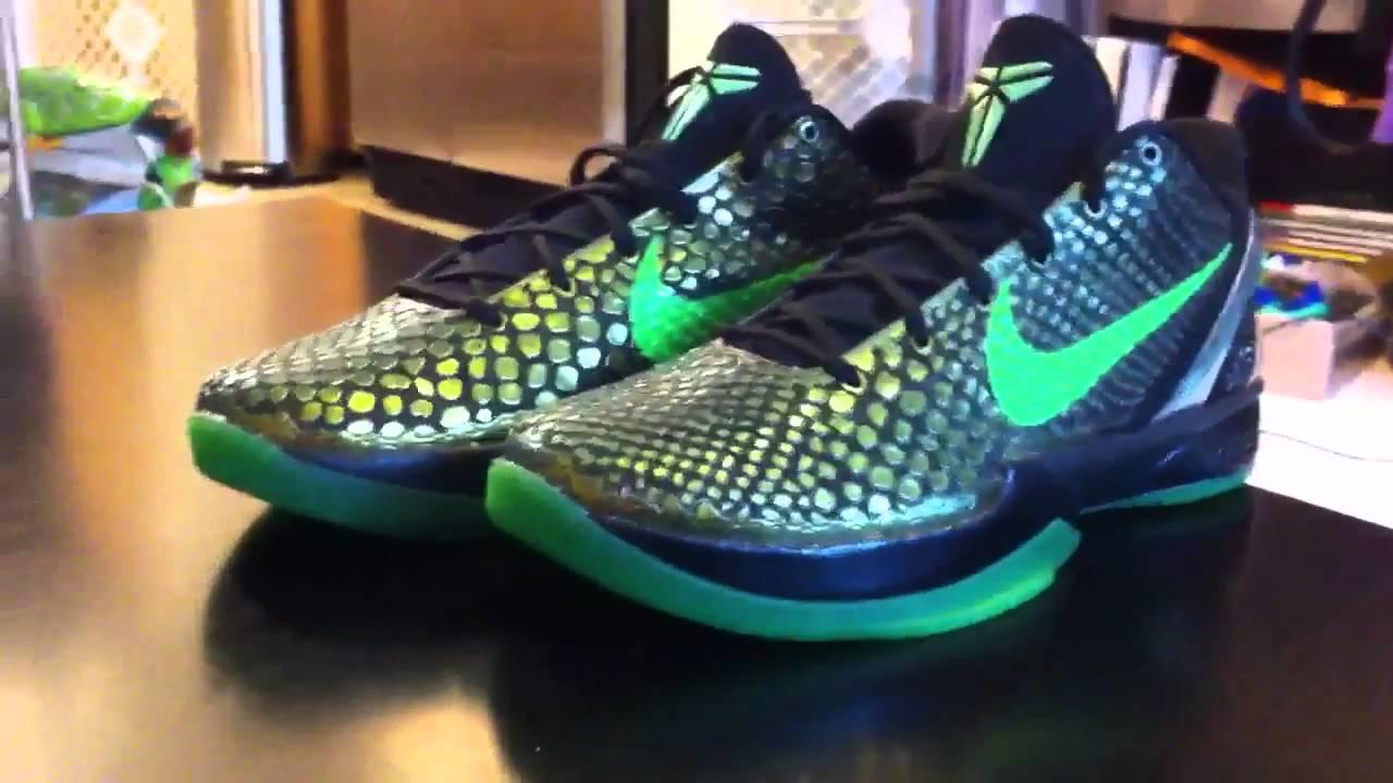 Shoe pickup: Kobe VI RICE - YouTube